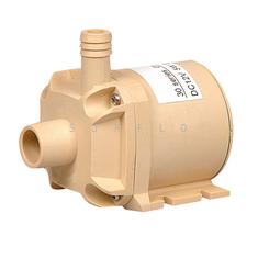 China food grade quiet dc pump 12V brushless water pump long life centrifugal pump for hot water 100℃ submersible pump supplier