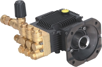 China Electric washer pump PC-1022 brass high pressure triplex plunger pump 170Bar 9LPM supplier