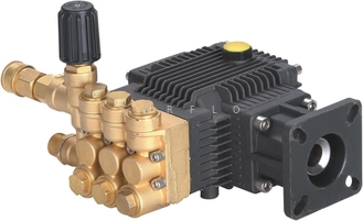China Gasoline engine driven washer pump PC-1023 brass high pressure triplex plunger pump 186Bar 10LPM supplier