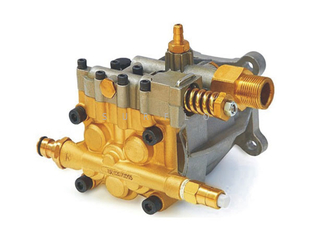 China Electric washer pump P180 brass high pressure axial pump 180Bar 10LPM supplier