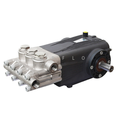 China HDP-N Hot Water 105C degree High Pressure Triplex Plunger Pump 52LPM 150Bar 15KW supplier
