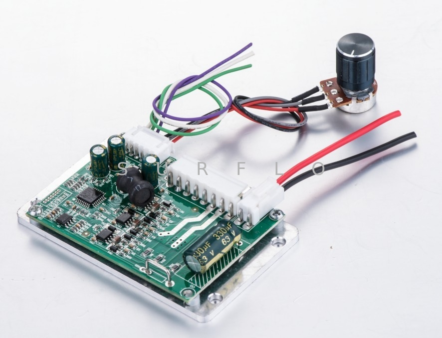 three phase brushless dc motor drive