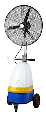 26'' high pressure mist fan PC-1027 Axial pump 0.3L/min 60Bar