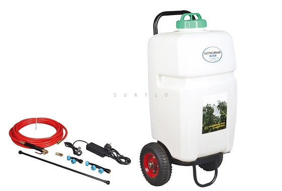 Trolley Electric Sprayer TSR-35 high capacity 35L high pressure 100PSI high flow 5.1LPM
