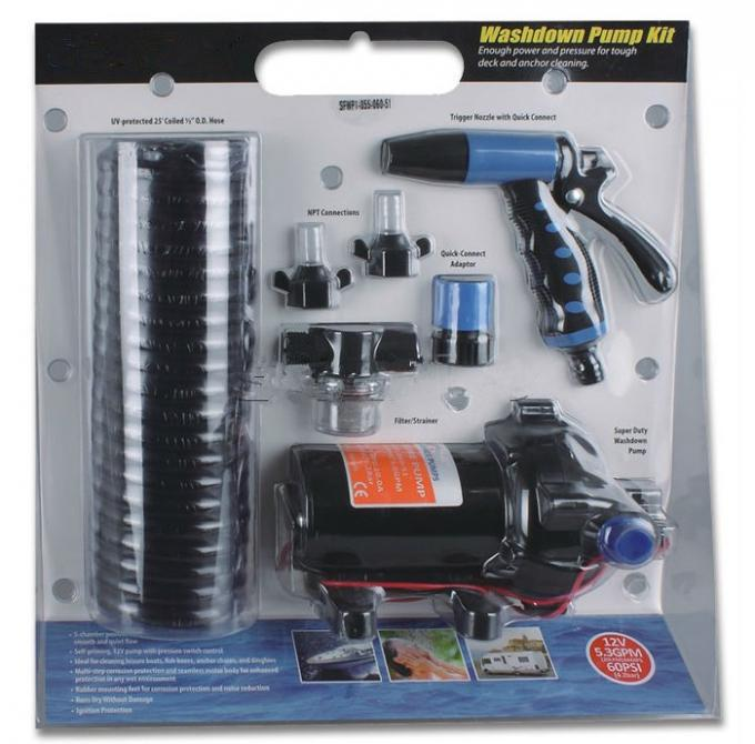 SURFLO FLOWKING DC Electric Deck Wash Down Pump Kit KDP-52