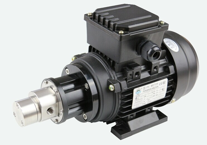 SURFLO FLOWDRIFT AC Asynchronous Motor-powered Magnetic Drive Hi-Pressure Stainless Steel Gear Pump KGP-06E